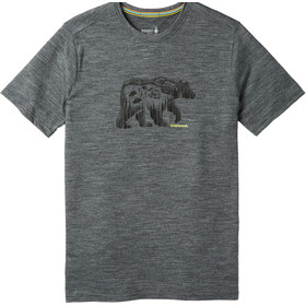 Smartwool Merino Sport 150 Bear Camp Tee Men Medium Gray Heather